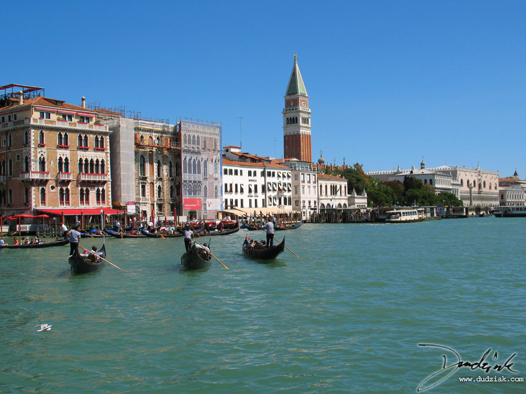 canale grande,  Gondolier,  grand canal,  italy,  venice