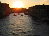 Grand Canal at Sunrise, Ponte degli Scalzi