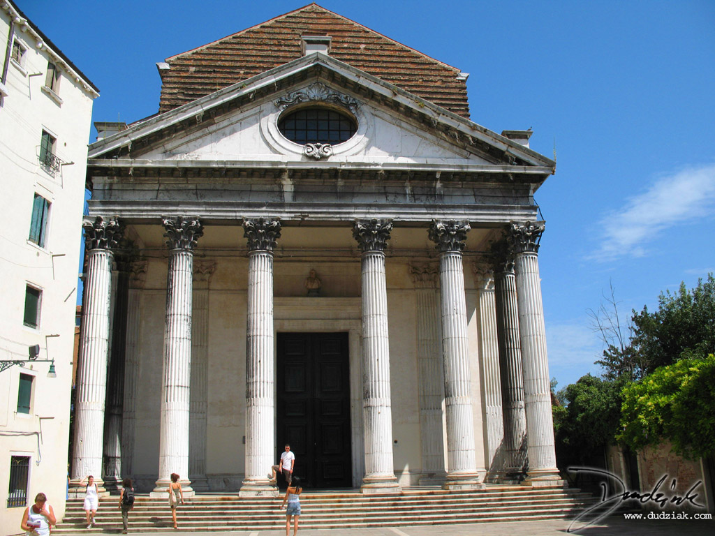 Picture of San Nicolò da Tolentino church in Venice.
