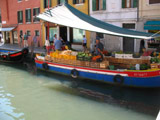 Vegitable Boat Near San Barnaba