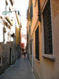 Calle dei Preti Looking East