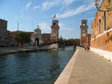Rio del Arsenale Looking North, Venice, Italy