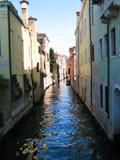 Rio delle Torreselle Looking North, Venice, Italy