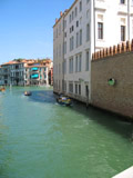 Rio di Ca' Foscari Looking East Into the Grand Canal