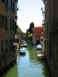 Rio di San Giobbe Looking South, Venice, Italy