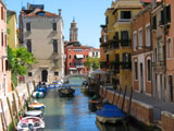 Rio di San Vio Looking North Towards the Grand Canal, Venice, Italy