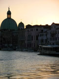 San Simeone Piccolo at Sunrise, Venice, Italy