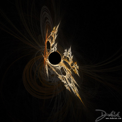 Picture of a dagger fractal