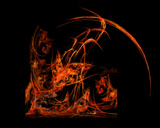 Dragon Fire, Flame Fractals