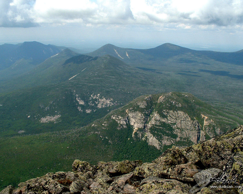 View from the top of Mt. Katahdin.